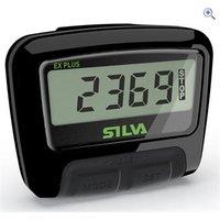 Silva ex Plus Pedometer - Colour: Black