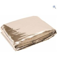 Hi Gear Emergency Blanket - Colour: Silver