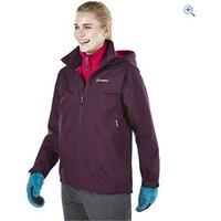 Berghaus Thunder Womens Waterproof Jacket - Size: 10 - Colour: CERISE NOIRE