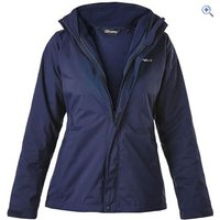 Berghaus Calisto Alpha 3-in-1 Womens Jacket - Size: 10 - Colour: EVENING BLUE