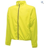 Dare2b Fired Up Mens Windshell Jacket - Size: L - Colour: FLURO YELLOW