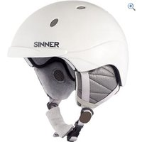 Sinner Titan Helmet - Size: S - Colour: MATT WHITE
