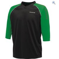 Dare2b Dialled In Cycling Jersey - Size: XXL - Colour: Black / Green