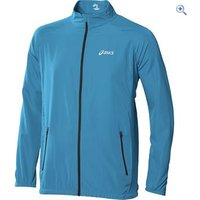 Asics Mens Woven Jacket - Size: XL - Colour: ATLANTIC BLUE