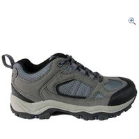 Freedom Trail Lowland II Womens Walking Shoe - Size: 12 - Colour: GREY-MULBERRY