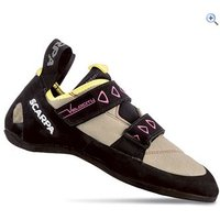 Scarpa Velocity V Ladies Climbing Shoes - Size: 42 - Colour: SAND-YELLOW
