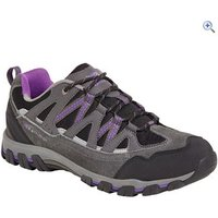 Karrimor Supa III Low Ladies Walking Shoe - Size: 4 - Colour: BLK-PURPLE