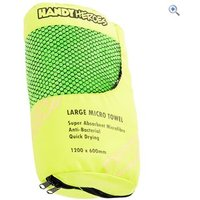 Handy Heroes Large Microfibre Towel (120cm x 60cm) - Colour: Green