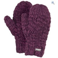 North Ridge Alton Womens Mitt - Colour: Mulberry