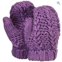 Hi Gear Handon Girls Mitt - Colour: PINKYPURPLE