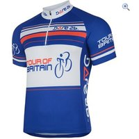 Dare2b Tour of Britain Souvenir Cycle Jersey - Size: L - Colour: SKYDIVER BLUE