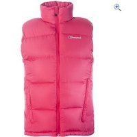 Berghaus Bracken Womens Down Vest - Size: 8 - Colour: DARK CERISE