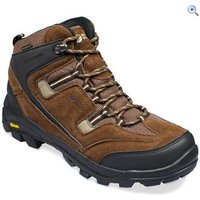North Ridge Bexhill Mid Mens Waterproof Walking Boots - Size: 12 - Colour: BROWN-BROWN