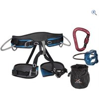 Climb X Pilot Harness and Belay Set - Size: XL - Colour: Assorted
