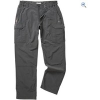 Craghoppers NosiLife Mens Cargo Trousers (Regular) - Size: 36 - Colour: Black Pepper