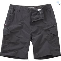 Craghoppers NosiLife Mens Cargo Shorts - Size: 34 - Colour: Black Pepper