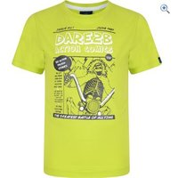 Dare2b Cross Bones Kids T - Size: 7-8 - Colour: LIME ZEST