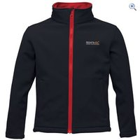 Regatta Canto III Kids Softshell Jacket - Size: 32 - Colour: Black