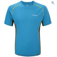 Montane Mens Sonic T-Shirt - Size: XXL - Colour: BLUE SPARK