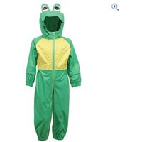 Regatta Charco Kids Waterproof Suit - Size: 36-48 - Colour: JELLYBEAN