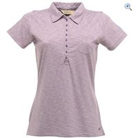 Regatta Bye Bye Womens Polo Shirt - Size: 14 - Colour: PURPLE HEART