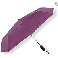 Lifeventure Trek Umbrella (Medium) - Colour: Purple