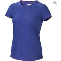 Marmot Katie Short-Sleeved Womens Tee - Size: XS - Colour: GEMSTONE