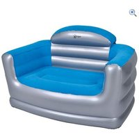 Hi Gear Inflatable Double Sofa - Colour: Blue / Grey