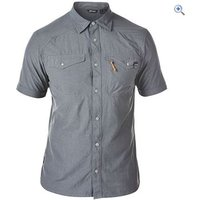 Berghaus Explorer ECO SS Mens Shirt - Size: L - Colour: Grey Marl