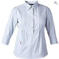 Berghaus Explorer ECO SS Womens Shirt - Size: 10 - Colour: GRANITE MARL