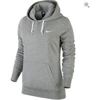 Nike Club Swoosh Womens Hoodie - Size: XS - Colour: DK GREY HEAT
