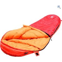 Hi Gear Spirit Jnr 300 Sleeping Bag - Colour: SCARLET-ORANGE
