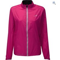 Ronhill Aspiration Windlite Womens Running Jacket - Size: 8 - Colour: Pink