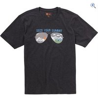 Hi Gear Bateman Mens Tee - Size: L - Colour: Grey Marl