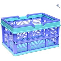 Hi Gear Large Folding Basket with Handle