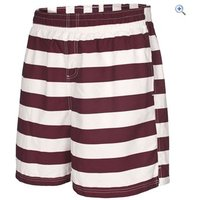 Trespass Mens Adrift Short - Size: S - Colour: PRUNE STRIPE