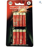 Handy Heroes AAA Zinc Power Batteries (8 pack)