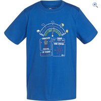 Hi Gear Hamilton Kids Tee - Size: 5-6 - Colour: Blue