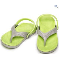 Sinner Akajima Kids Flip Flops - Size: 27 - Colour: Green Grey
