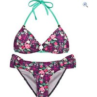 Protest Malu Triangle Bikini - Size: M - Colour: BEAT BLUE
