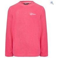Hi Gear Fern Girls Microfleece Crew - Size: 34 - Colour: Pink