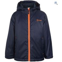 Hi Gear Kato Boys Insulated Jacket - Size: 11-12 - Colour: NAVY-ORANGE