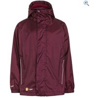Hi Gear Stowaway Jacket (Childrens) - Size: 5-6 - Colour: Purple