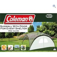 Coleman Sunwall Door for Event Shelter Pro (14 x 14) - Colour: Silver