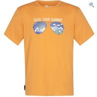 Hi Gear Bateman Mens Tee - Size: S - Colour: Orange
