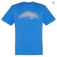 Hi Gear Jackson Mens Tee - Size: L - Colour: Blue