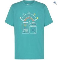 Hi Gear Hamilton Kids Tee - Size: 9-10 - Colour: Green