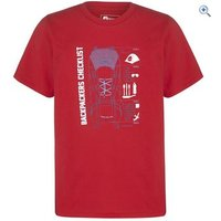 Hi Gear Pockwock Kids Tee - Size: 5-6 - Colour: Red