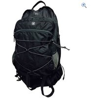 Hi Gear Long Haul Travel Pack (80+15L) - Colour: Black / Charcoal