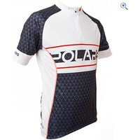 Polaris Venom Scale Cycling Jersey - Size: S - Colour: White And Black